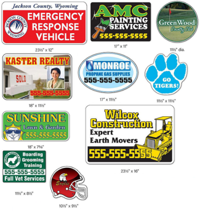 Outdoor Magnetic Signs
