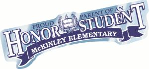 Proud Parent of an Honor Student Bumper Sticker