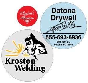 Round Decal Stickers