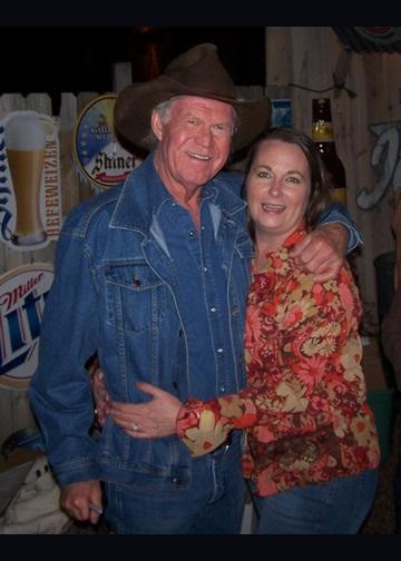 Billy Joe Shaver with Tina Canary
