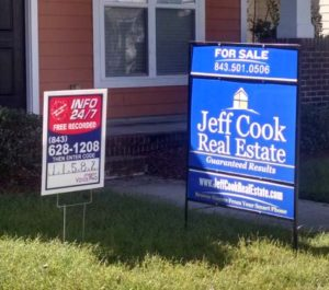 Aluminum Real Estate Signs and Frames