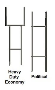 Heavy Duty Economy and Political Wire Stands