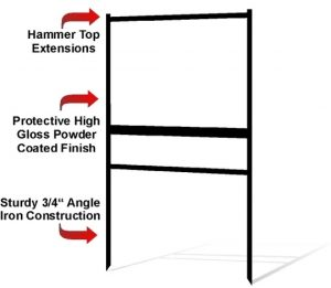 Features of Heavy Duty Sign Frames