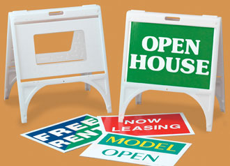 Real Estate Products - Plastic Portable Sign Frames