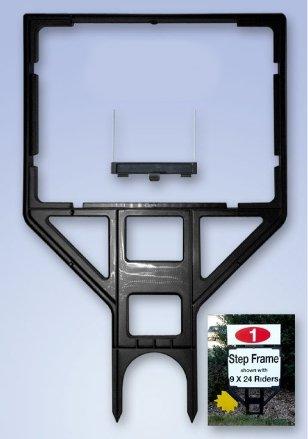 Real Estate Step Plastic Sign Frames